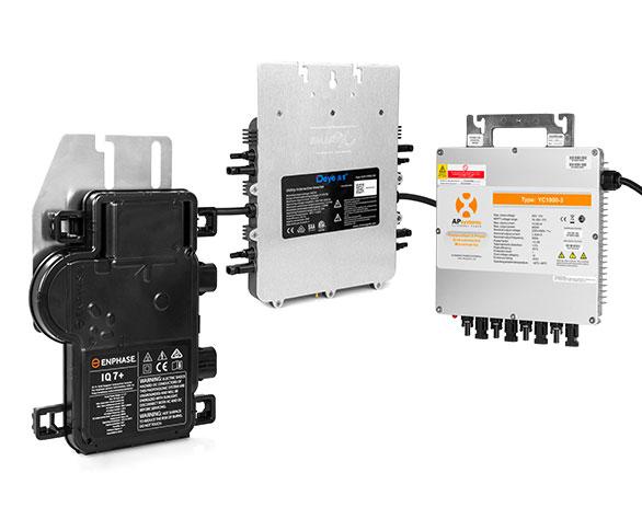 Mikroinwertery instalacji solarnych